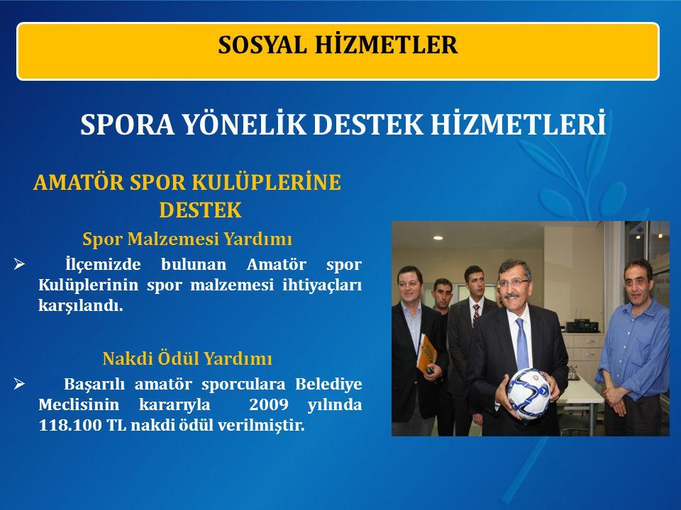 AMATÖR SPOR KULÜPLERİNE DESTEK Spor Malzemesi Yardımı  İlçemizde bulunan Amatör spor Kulüplerinin spor malzemesi ihtiyaçları karşılandı.