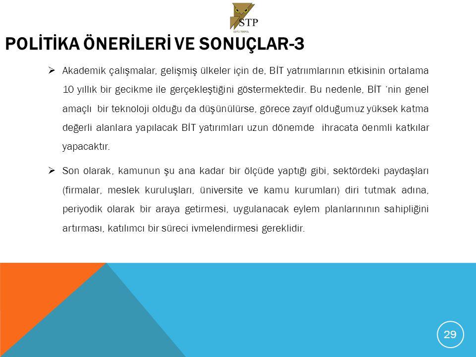 TEŞEKKÜRLER. GÖRÜŞ VE ÖNERİLERİNİZ İÇİN erdil@metu.edu.tr erdil@metu.edu.tr 30