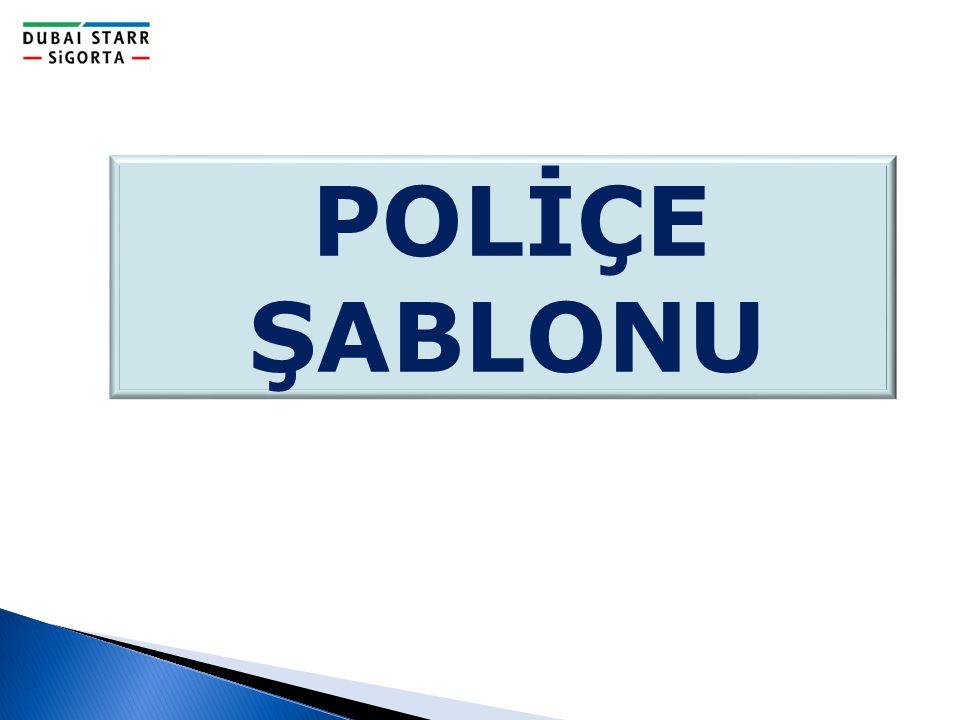POLİÇE ŞABLONU