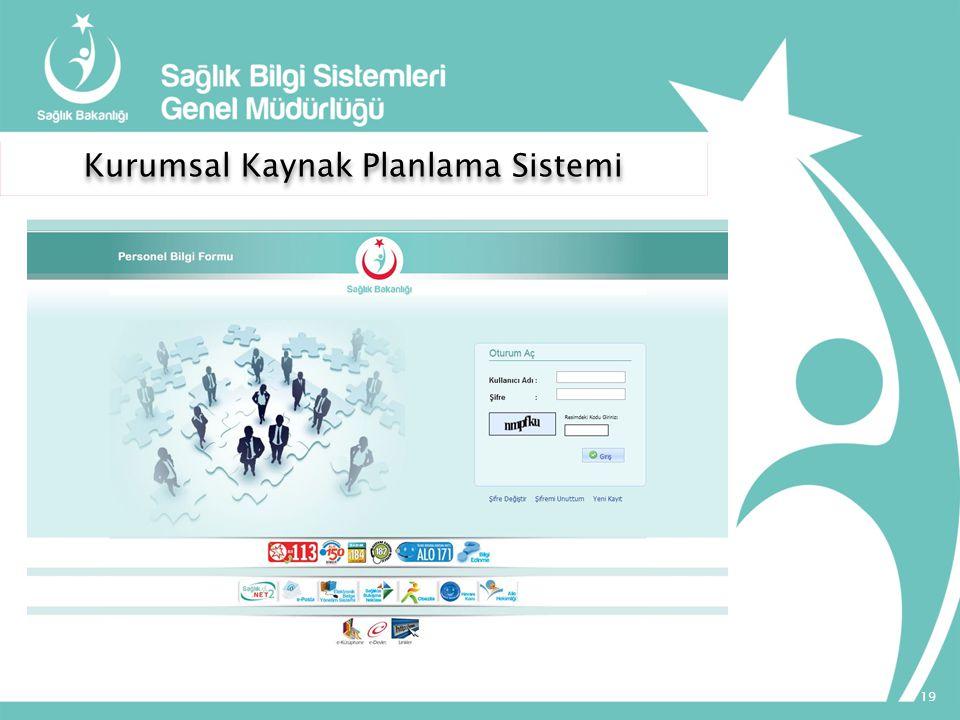 Kurumsal Kaynak Planlama Sistemi 19