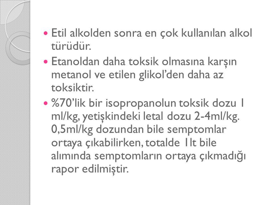 Etilen Glikol Nasıl Zehirler . Alkol dehidrogenaz tarafından glikoaldehide metabolize edilir.