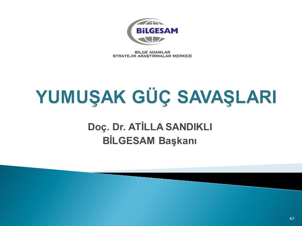 Doç. Dr. ATİLLA SANDIKLI BİLGESAM Başkanı 47