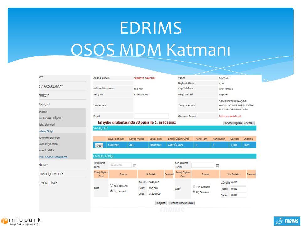 EDRIMS OSOS MDM Katmanı