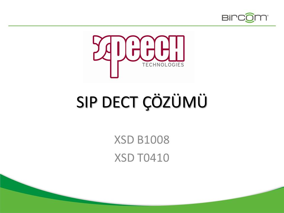 SIP DECT Kablosuz kullanım Kurumsal PBX • Mobilite ile verimlilik kazancı • Esneklik ve erişilebilirlik • Yatırım maliyetlerinde tasarruf • Kablolama maliyetlerine veda • Ekonomi, şıklık ve prestij bir arada • Kolay kurulum ve yönetim • İhtiyaca göre ölçeklenebilirlik Xpeech SIP DECT