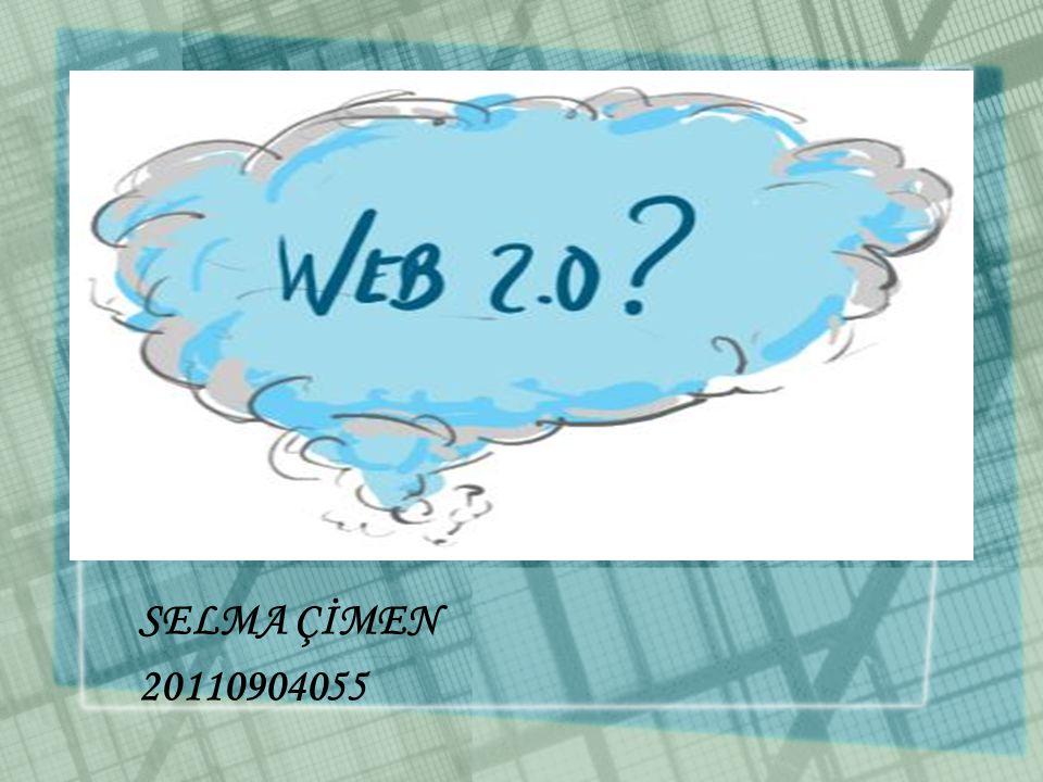 •Bilgisayar ıı.Dönem konularından olan :Web 2.0 nedir?,eğitimde nasıl kullanılabilir.