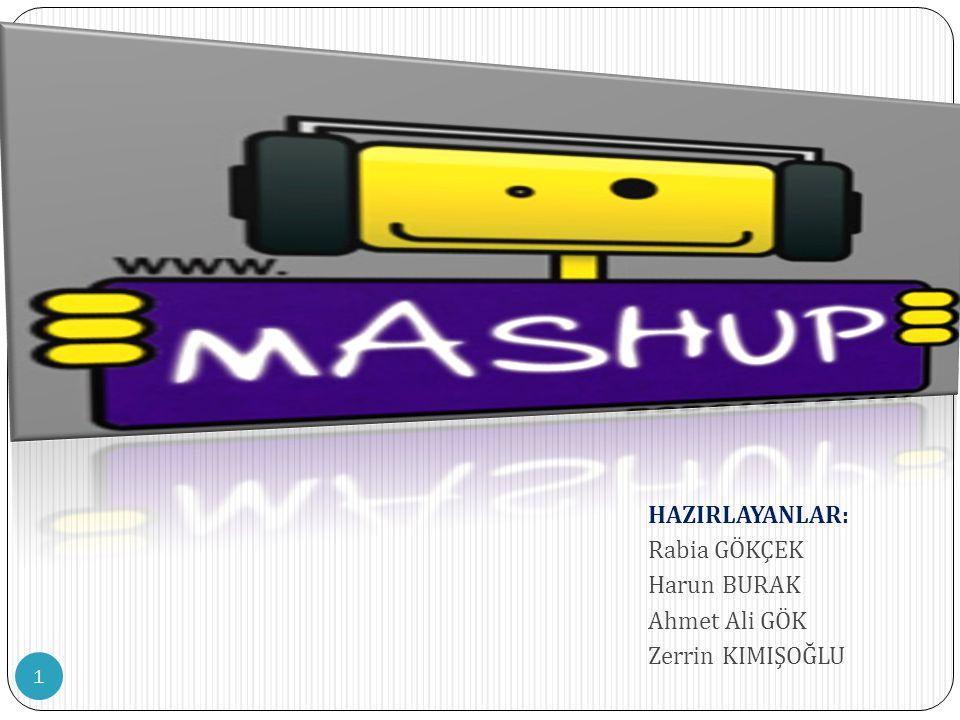 2  WEB 2.0  MASH-UP NED İ R.
