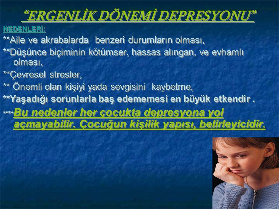 ' İ NT İ HAR etmek, •13-19 yaş arası çocukların ölüm nedenleri arasında İNTİHAR 2.