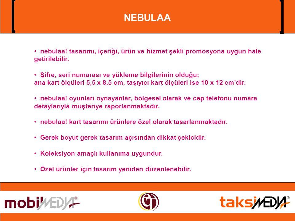 NEBULAA • nebulaa.tasarımı, içeriği, ürün ve hizmet şekli promosyona uygun hale getirilebilir.