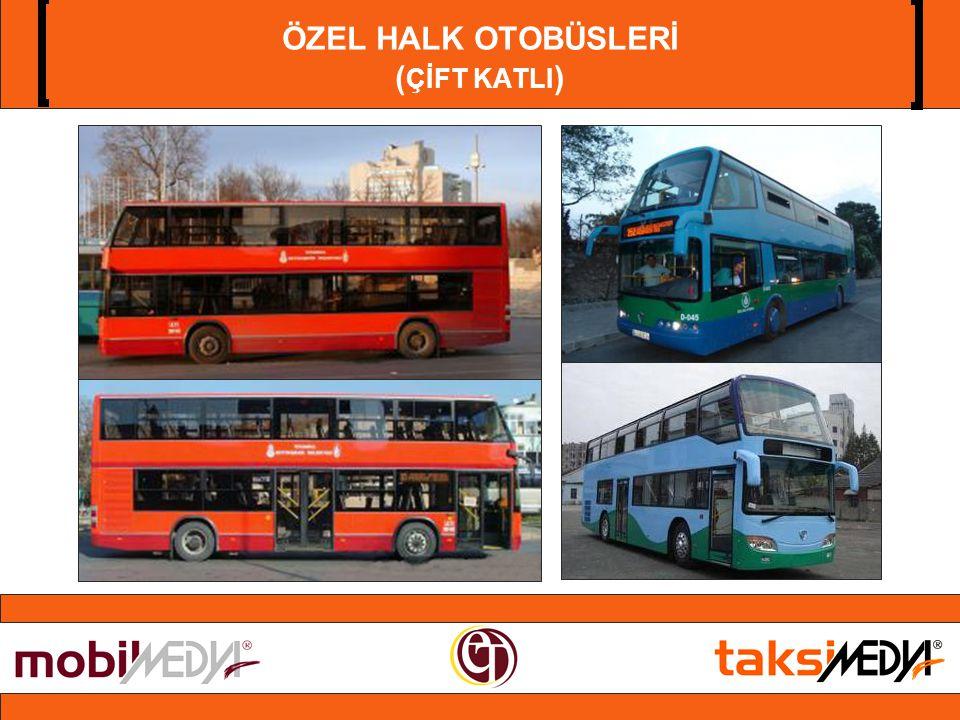 ÖZEL HALK OTOBÜSLERİ ( ÇİFT KATLI )