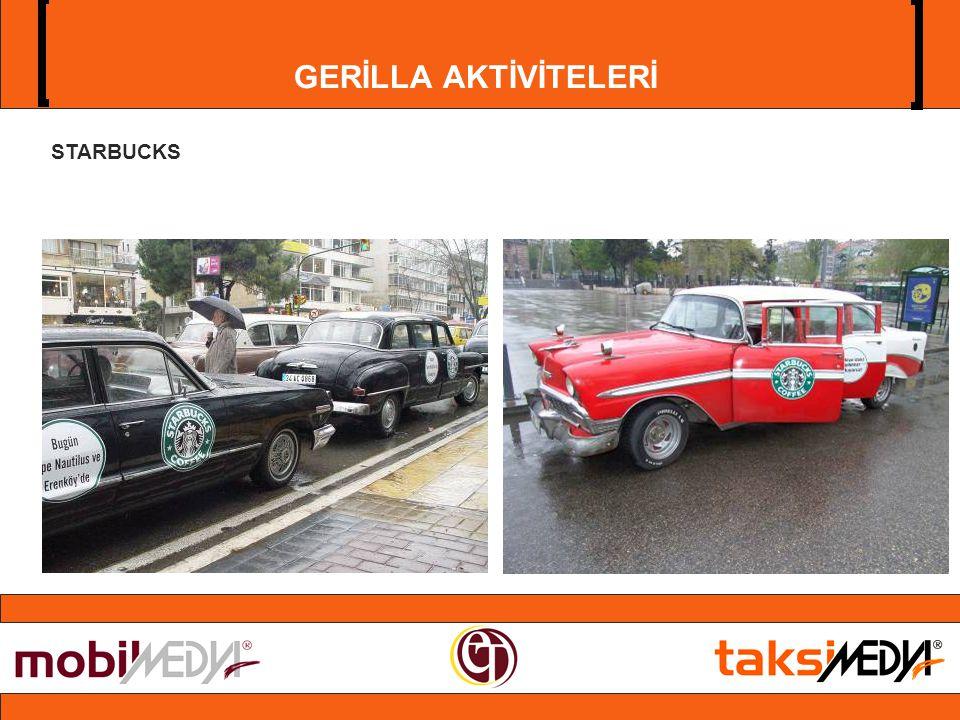 GERİLLA AKTİVİTELERİ STARBUCKS