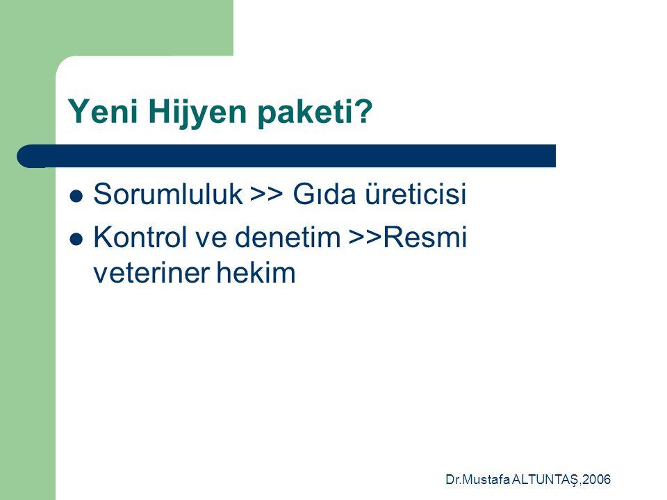 Dr.Mustafa ALTUNTAŞ,2006 CANLIHAYVANLAR ÜRÜNLER ÜRÜNLER PAREKENDECİ CVO SINIRKONTROLLERİ LABARATUVARLAR BAKAN HAYVANLAR & YEMLER YEMLER MERKEZ BİRİMLE