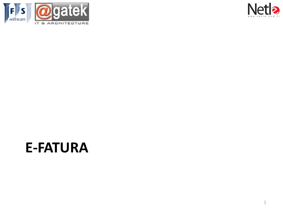 E-FATURA 2