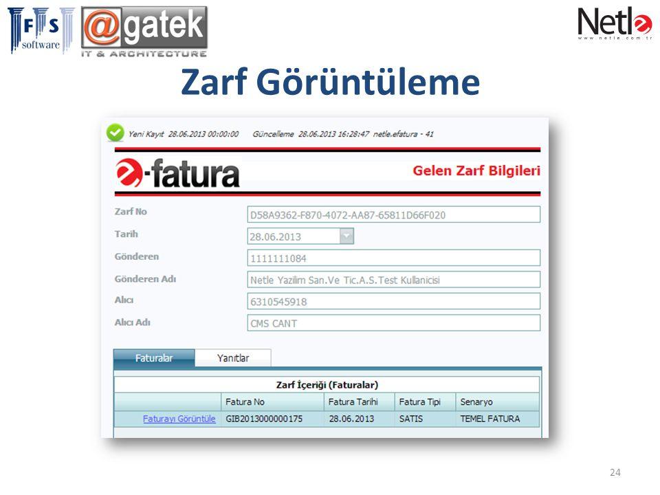 Zarf Görüntüleme 24