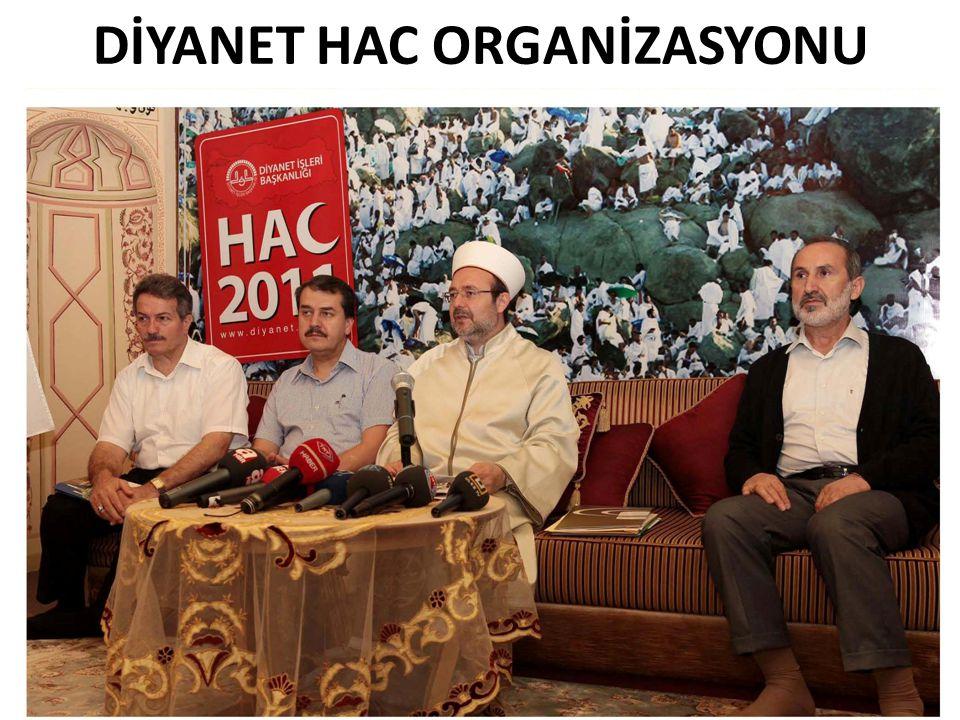 DİYANET HAC ORGANİZASYONU