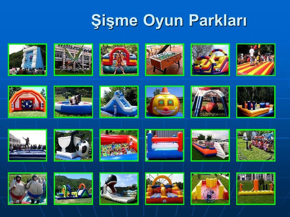 Şişme Oyun Parkları Şişme Oyun Parkları