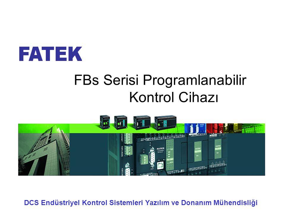 FBs Serisi Programlanabilir Kontrol Cihazı DCS Endüstriyel Kontrol Sistemleri Yazılım ve Donanım Mühendisliği