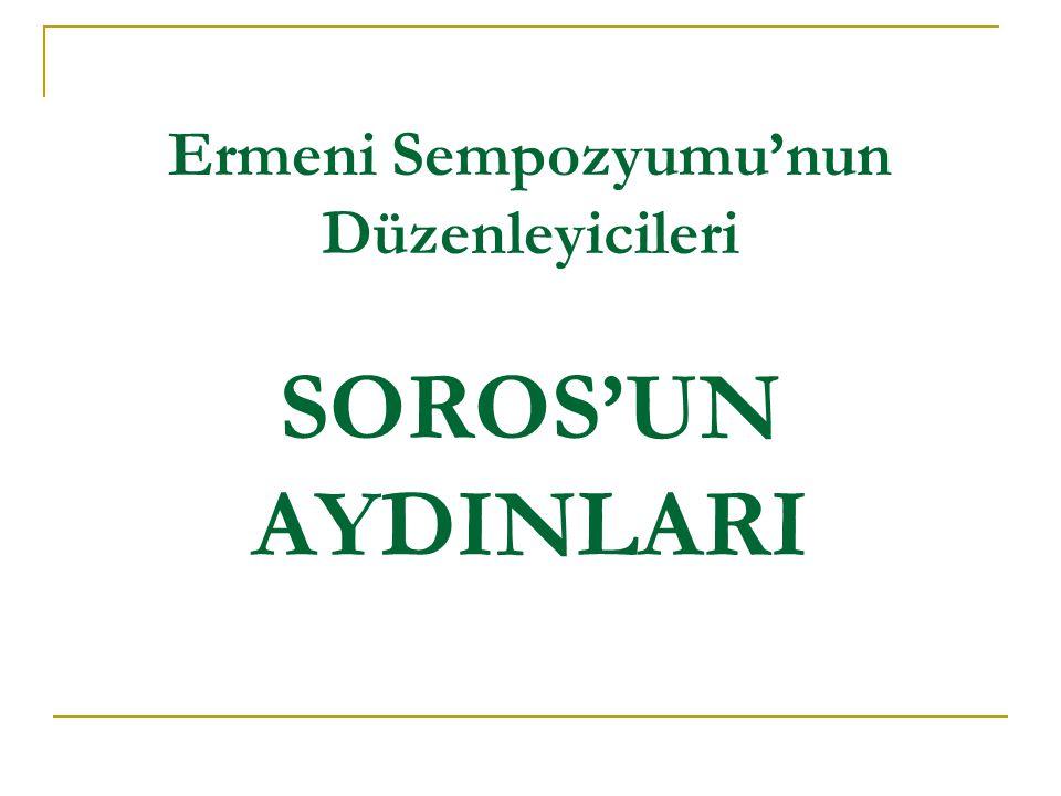 SOROS'UN AYDINLARI  Oğuz Özerden Bilgi Üniversitesi Mütevelli Heyeti Başkanı Türkiye'de faaliyete geçtiği 2001 yılından bu yana ATE'nin Danışma Kurulu Üyesi