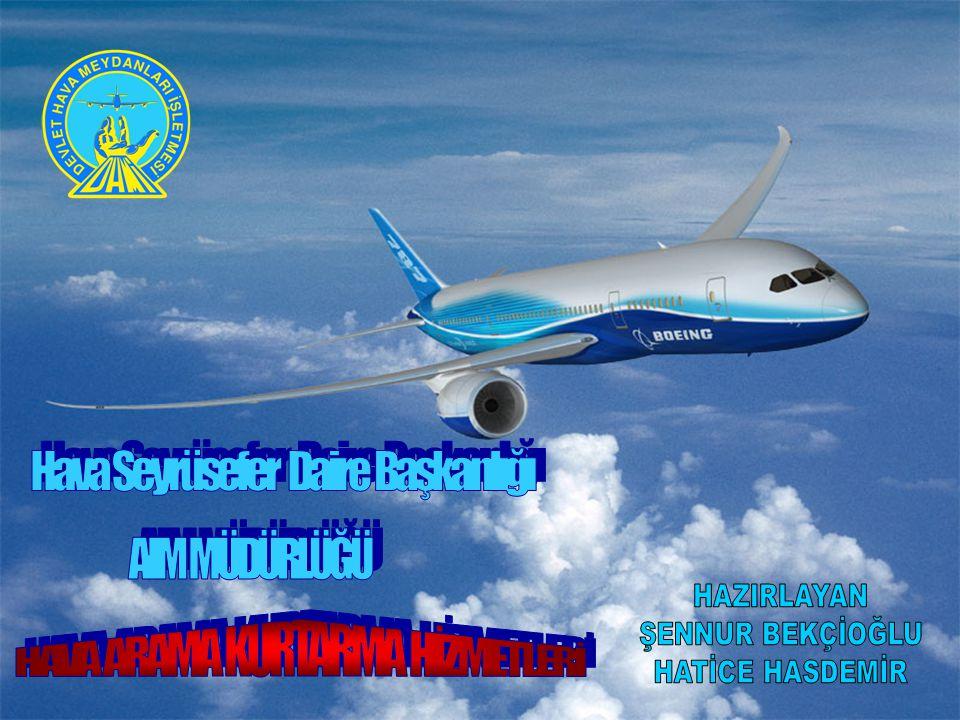  DHMİ' nin tarihçesi  Havacılık Bilgi Yönetimi (AIM ) Müdürlüğü'nün tanıtımı  Türkiye'de Hava Arama Kurtarma Hizmetleri  DHMİ Genel Müdürlüğü'nün SAR ile ilgili sorumlulukları  FIC Ofisleri  Hava Kurtarma Koordinasyon Merkezi (RCC)' nin görev ve sorumlulukları  KKAB' nin görev ve sorumlulukları  Acil durum safhaları  Uçak Kaçırılması ( Hijack )  DHMİ'de eğitim  COSPAS SARSAT sisteminin Türkiye'ye kazandırılması