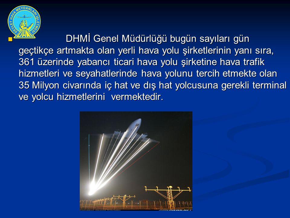 Hava Arama ve Kurtarma Koordinasyonunda Hizmet Sağlayıcı Kurum olan D.H.M.İ.