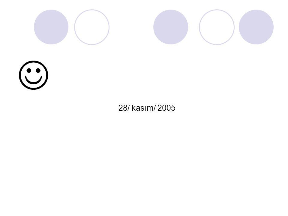  28/ kasım/ 2005