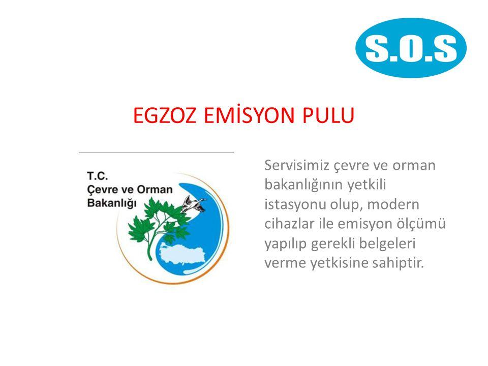 EGZOZ EMİSYON PULU Servisimiz çevre ve orman bakanlığının yetkili istasyonu olup, modern cihazlar ile emisyon ölçümü yapılıp gerekli belgeleri verme yetkisine sahiptir.