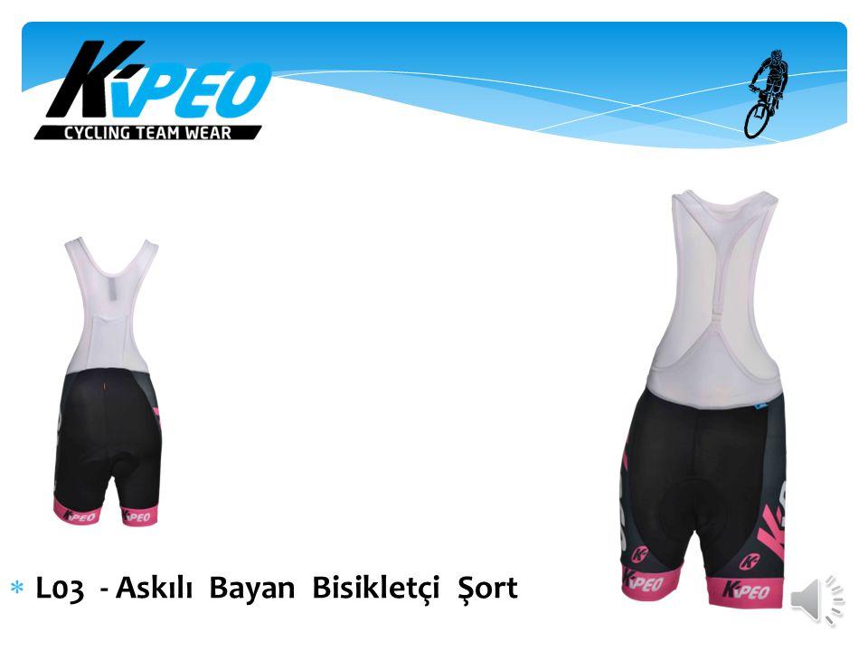  L041 - Bayan Uzun Kol T-shirt