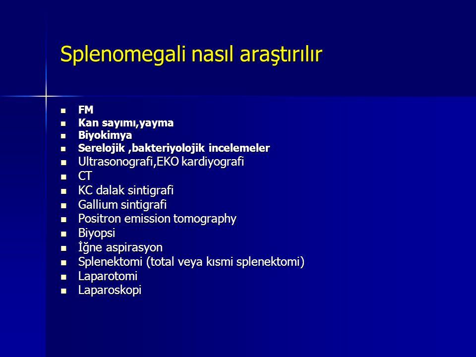 Lokalizasyona göre altta yatan olasılıklar Yaygın LAP yapabilen hastalıklar:   Hematolojik maligniteler: – –non-Hodgkin l, – –Hodgkin h, – –KLL – –ALL   Infeksiyonlar: – –İnf Mononukleoz – –CMV – –HIV – –Tbc – –Toxoplazma – –Histoplazma – –Koksidiyomikoz – –Bruselloz   Rheumatoid arthritis, SLE   Sarkoidoz   Angioimmunoblastic lymphadenopathy