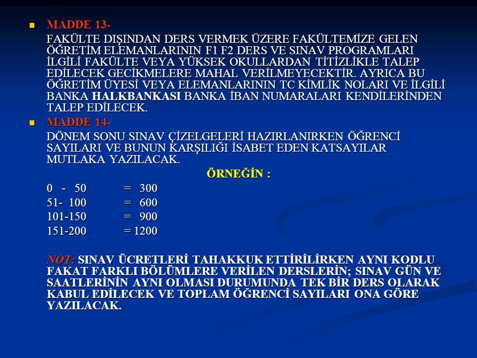 Örnek 1: İktisada Giriş II dersi sınavı 23.01.2012 tarihinde saat 15:00'da, İktisat Örgün Öğretim ile İktisat İkinci Öğretim (222+22) toplam 244 öğrencinin katılımıyla gerçekleştirilmiştir.