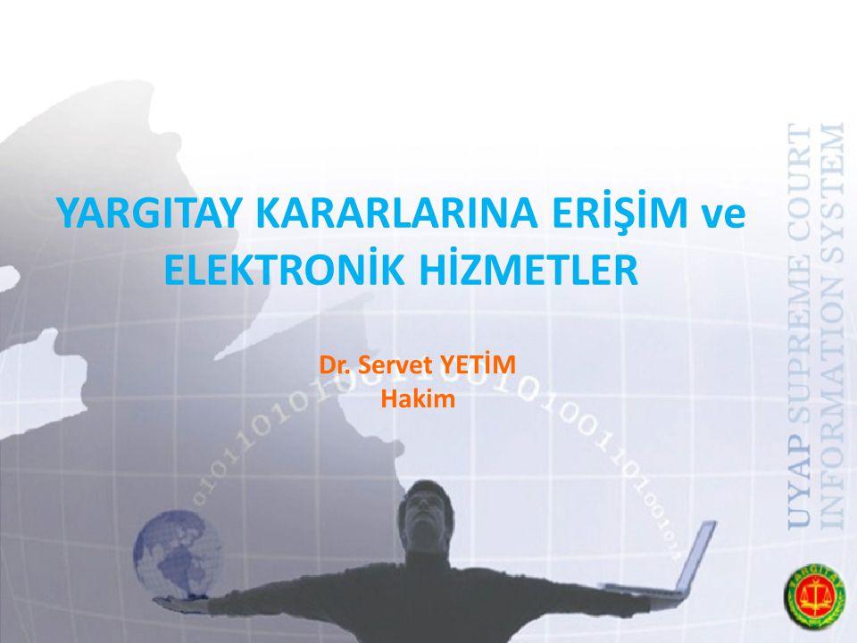 ELEKTRONİK HİZMETLER- Karar Arama