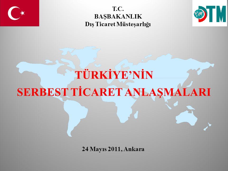 TEŞEKKÜRLER T.C. BAŞBAKANLIK Dış Ticaret Müsteşarlığı