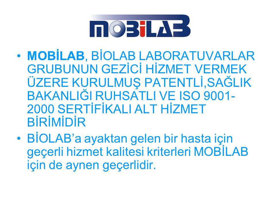 BİOLAB hizmetleri eksternal ve internal kalite kontrol çalışmaları ile sürekli olarak denetlenmektedir.