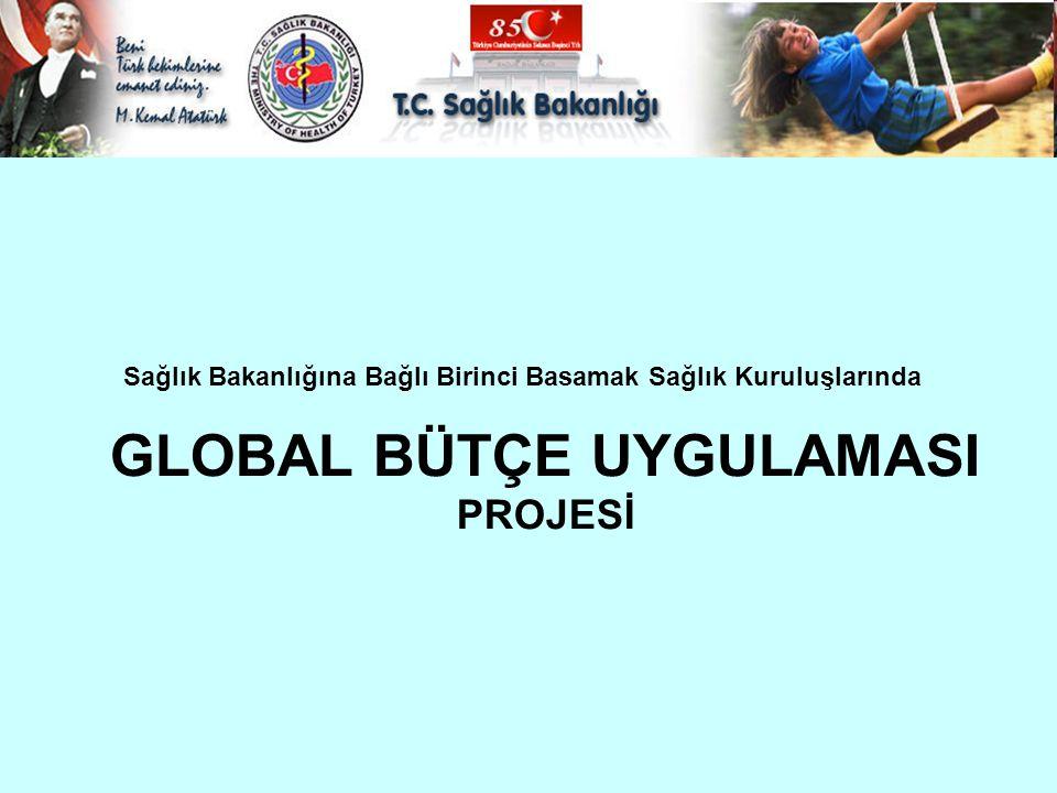 Sağlık Bakanlığına Bağlı Birinci Basamak Sağlık Kuruluşlarında GLOBAL BÜTÇE UYGULAMASI PROJESİ