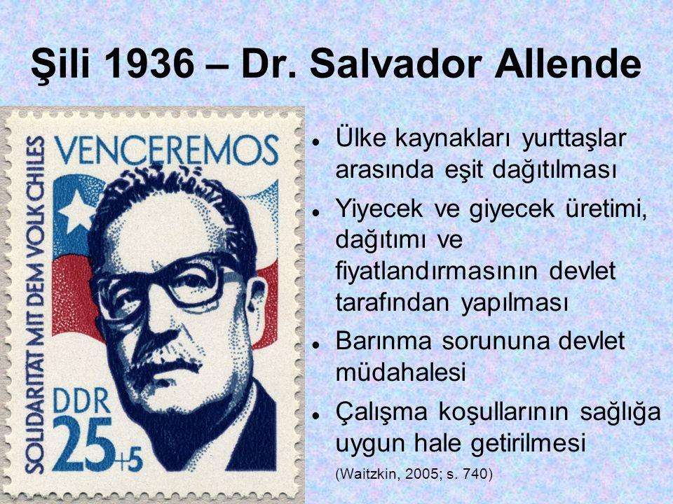 Şili 1936 – Dr.