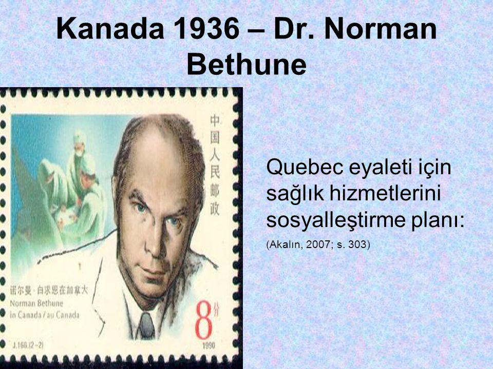 Kanada 1936 – Dr.