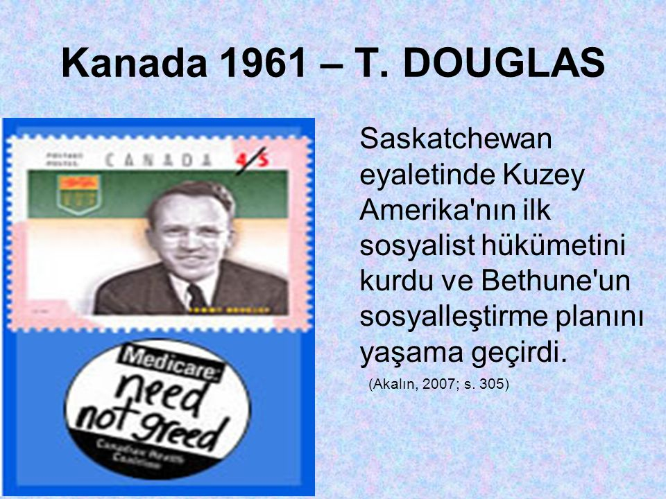 Kanada 1961 – T.