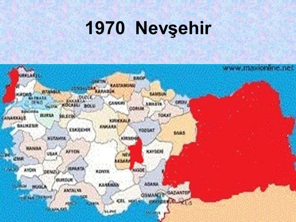 1970 Nevşehir