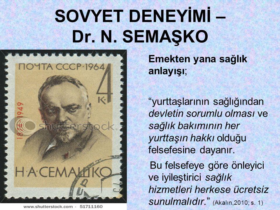 SOVYET DENEYİMİ – Dr.N.