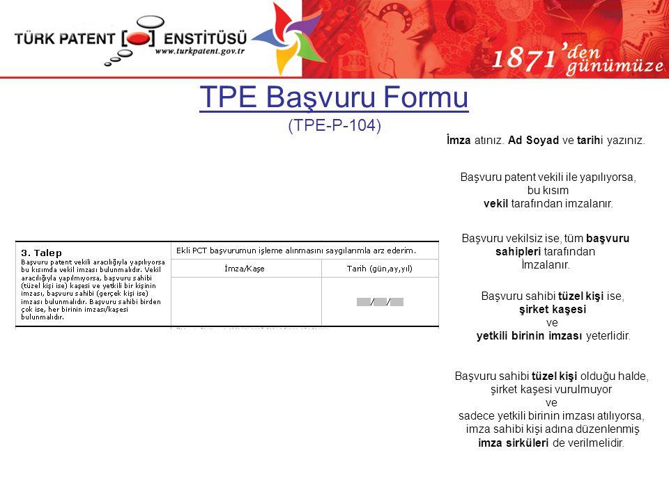 PCT Başvuru Formu (PCT/RO/101)