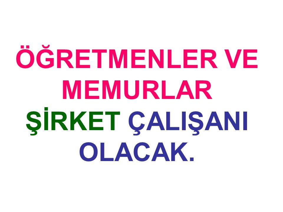 Türkiye, 1995'te şu hizmet sektörlerinde taahhütte bulundu:
