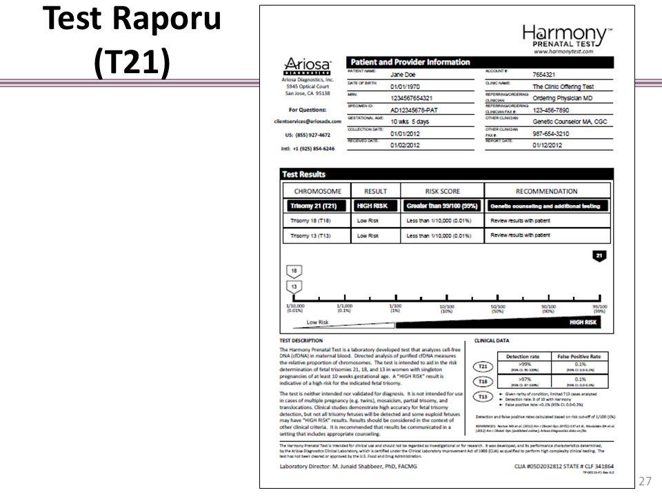 Test Raporu (T21) 27