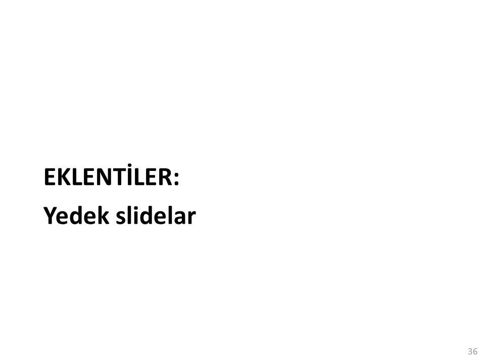 EKLENTİLER: Yedek slidelar 36