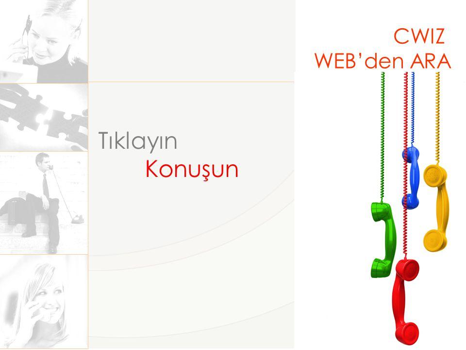 CWIZ WEB'den ARA Nasıl Çalışır.