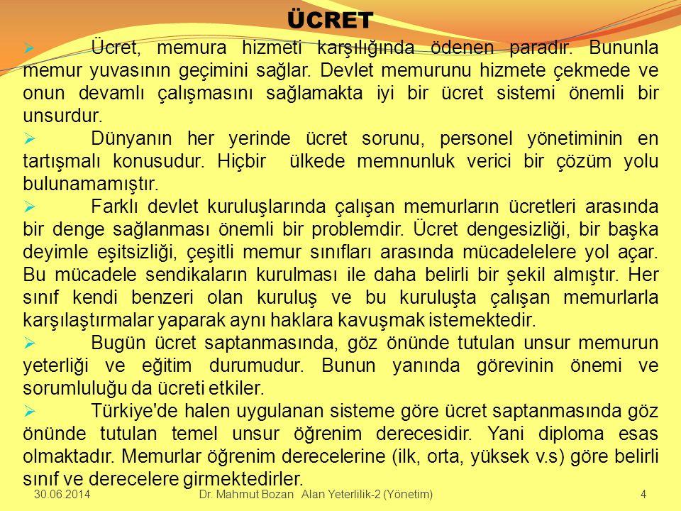 DEVLET MEMURLARI KANUNUNA YAPILAN ELEŞTİRİLER 1.