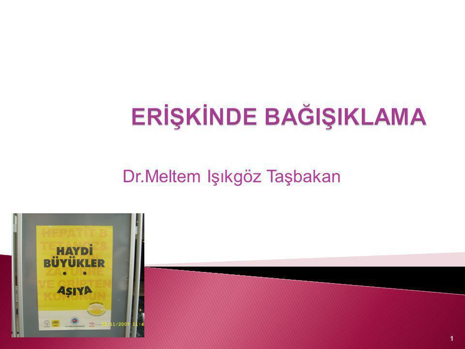Dr.Meltem Işıkgöz Taşbakan 1