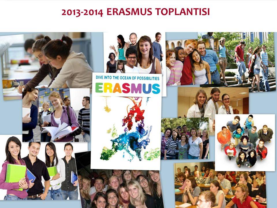 2013-2014 ERASMUS TOPLANTISI