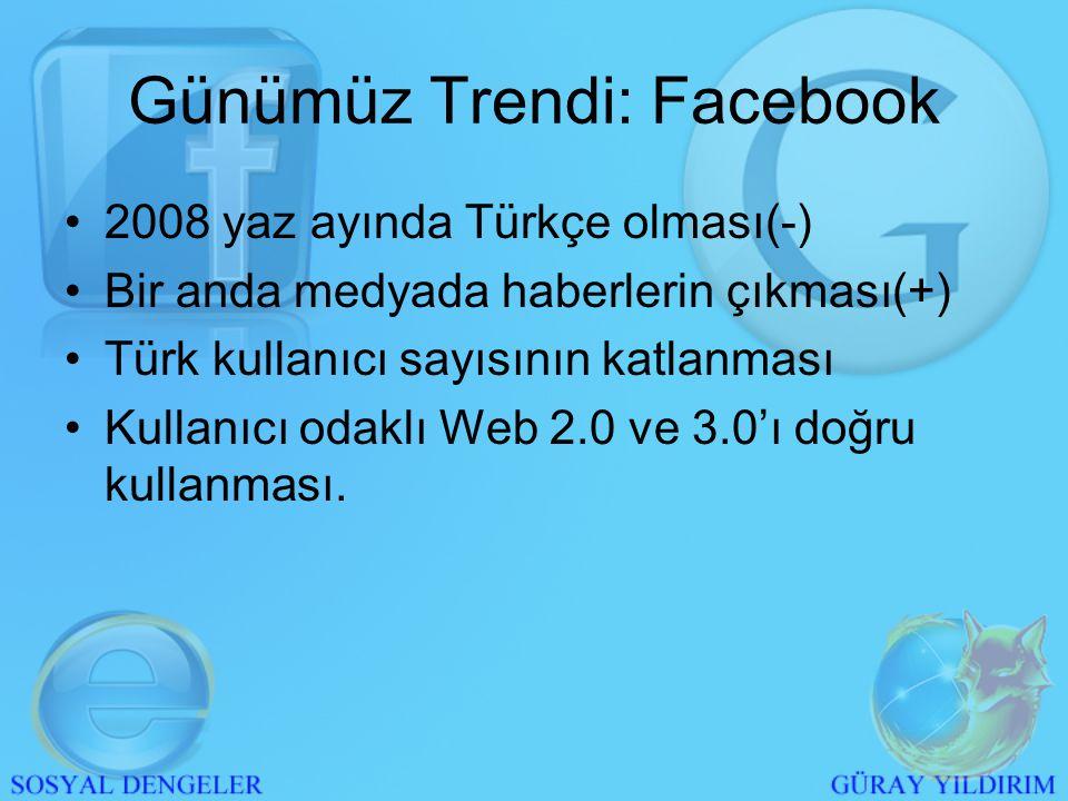 Türkçe Facebook •Youtube'un oranları bize dilin ikinci planda olduğunu kanıtladı.
