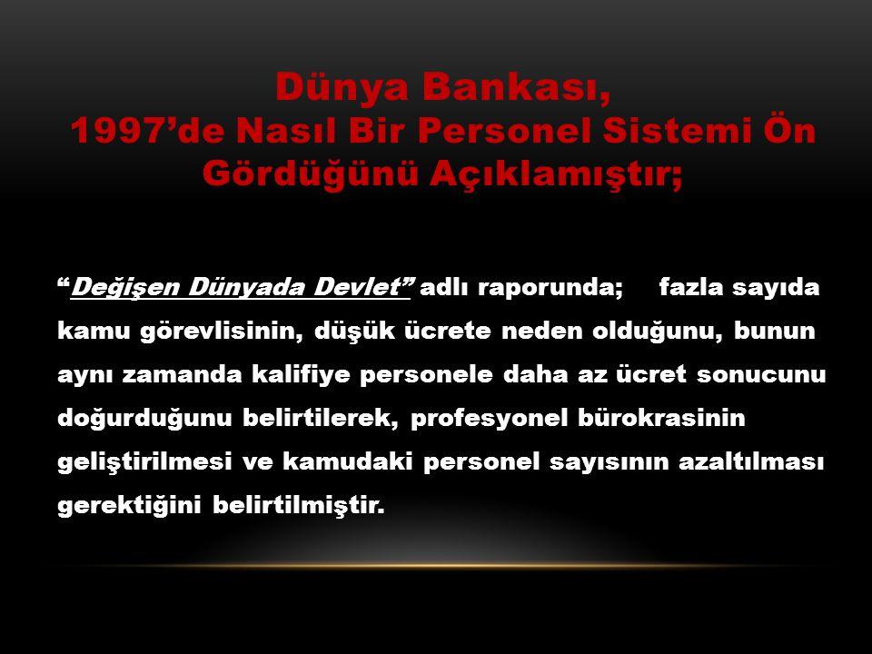 Türkiye 1995 Yılında Yürürlüğe Giren GATS Anlaşması İle; Başta eğitim ve sağlık olmak üzere, enerji, su, posta, iletişim, ulaşım, kültür, inşaat, mühe