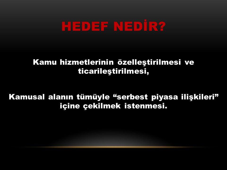 """TESEV DE TİSK GİBİ SÖZLEŞMELİLİK İSTEMEKTEDİR TESEV' in(Türkiye Ekonomik ve Sosyal Etüdler Vakfı) önerisi, """"Kamu personelinin sadece yönetsel kadrolar"""