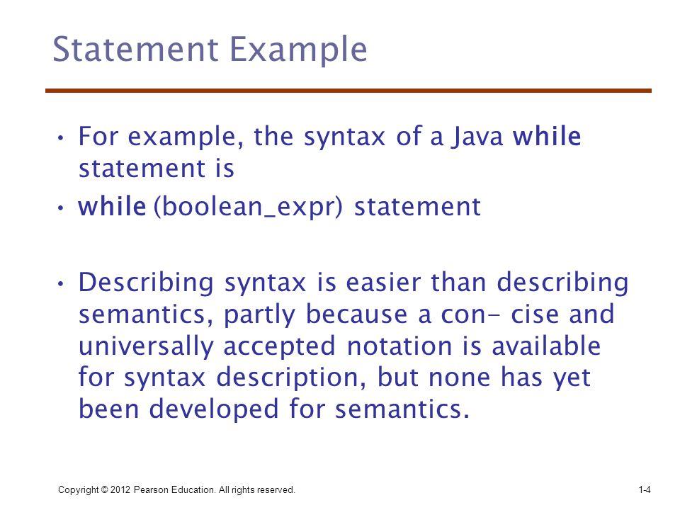 Denotational Semantics •Öz yineli fonksiyon teorisine bağlıdır.