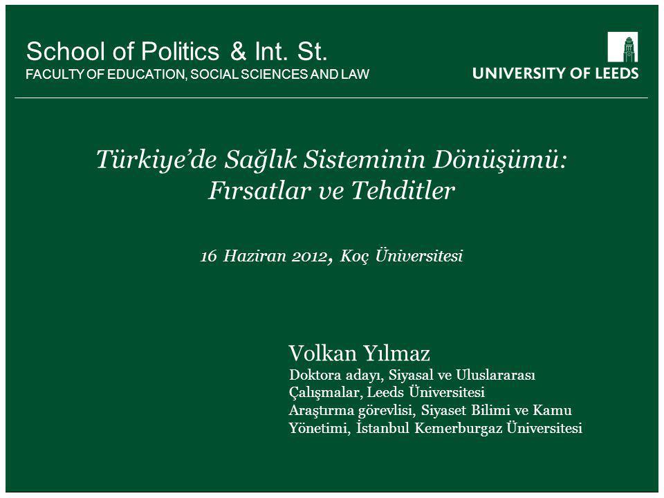 SDP'nin sonuçları kısa vadede ortaya çıkan sonuçları...